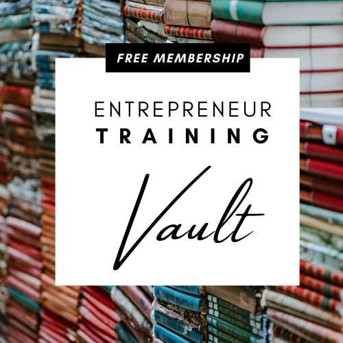 entrepreneur training vault