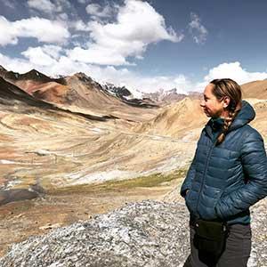 Kristyn's travels in Tajikistan