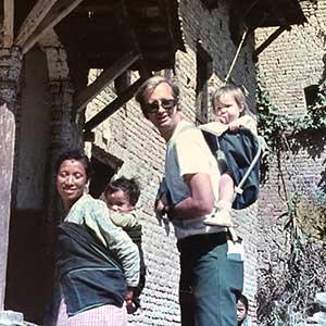 kristyn travels in Nepal